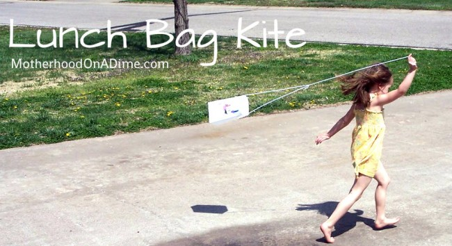 Paper Lunch Sack Kite