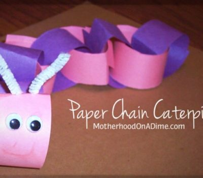 Paper Chain Caterpillar