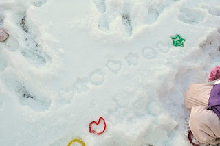 Making Patterns in the Snow and More…