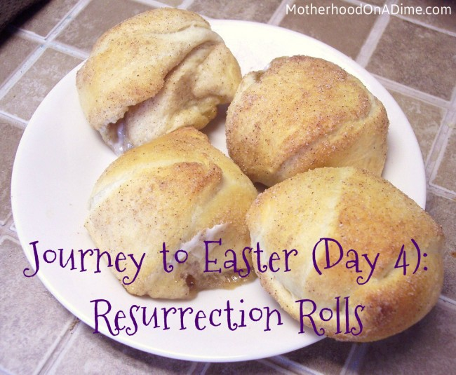 Journey to Easter (Day 4): Resurrection Rolls