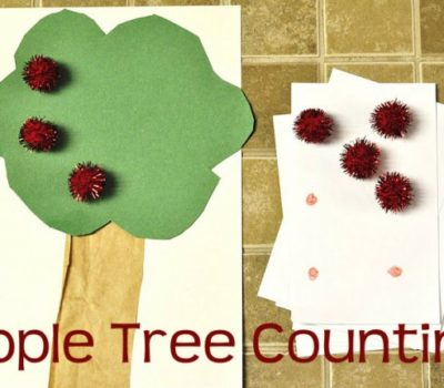 Learning Bag: Apple Tree Number Game