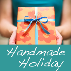 Handmade Holiday:  Pinterest-Inspired Gifts + Link Up Your Ideas