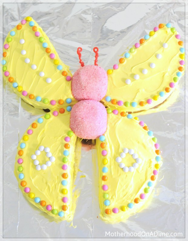 Butterfly Cake Kids Activities Saving Money Home