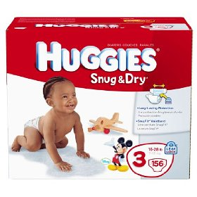Diaper coupons sent to home