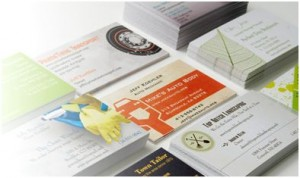 Premium Business Cards for $10 or 6 FREE Items from