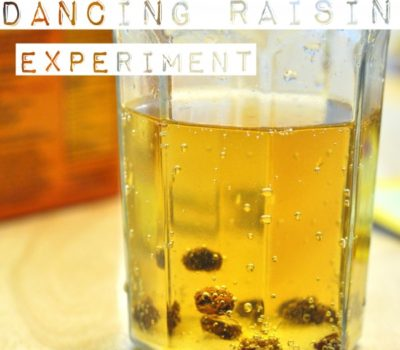 Dancing Raisin Experiment