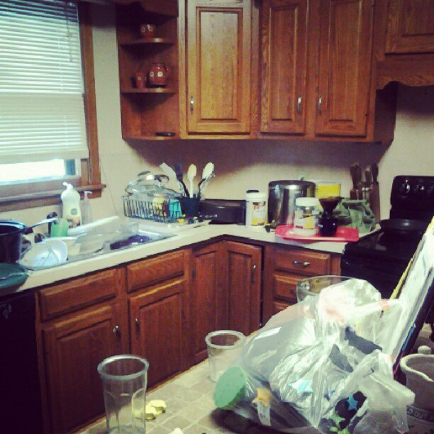 Messy Kitchen: Do You Make Money From This Blog? + Nine Other Random