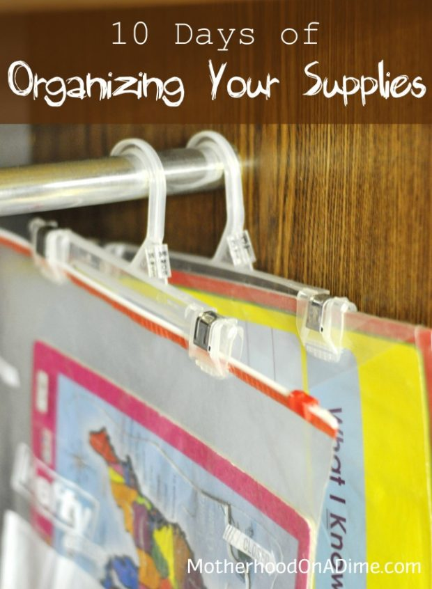 organization tips ten days of organizing your craft and