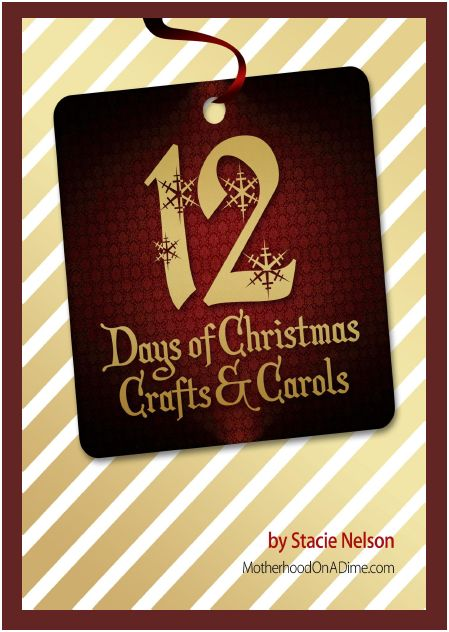 12 days of christmas crafts and carols