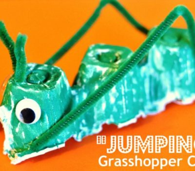 """Jumping"" Grasshopper Craft"