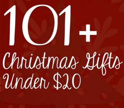 Ultimate List of Inexpensive Gift Ideas:  101+ Gift Ideas For Under $20 + Homemade Christmas Gift Idea Lists