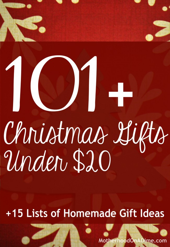 Ultimate List of Inexpensive Gift Ideas: 101+ Gift Ideas ...