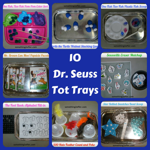 10 dr. seuss tot trays