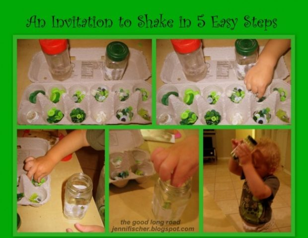 an invitation to shake in five steps