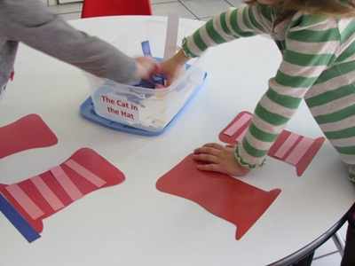 cat in the hat pattern activity