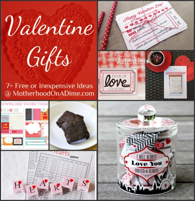 Free Inexpensive Homemade Valentine Gift Ideas Kids