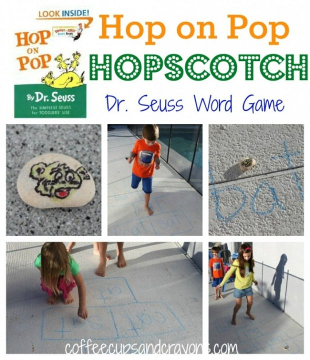 hop on pop hopscotch