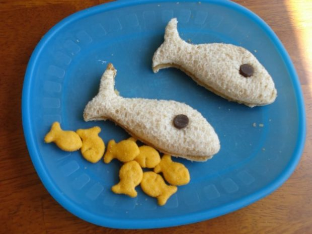 one fish two fish snack idea