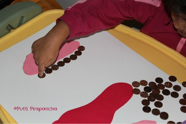 the foot book math activity