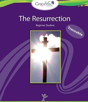 Study the Story of Jesus in a New Way:  Review of The Resurrection (Traceable) by Grapevine Studies