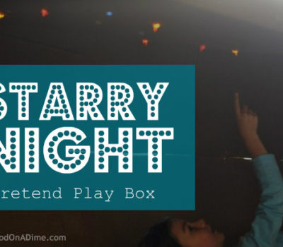 "Pretend Play:  ""Starry Night"" Box"