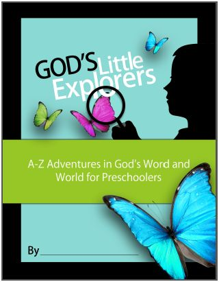god's little explorers notebook cover