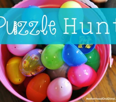 Puzzle Hunt Activity for Kids
