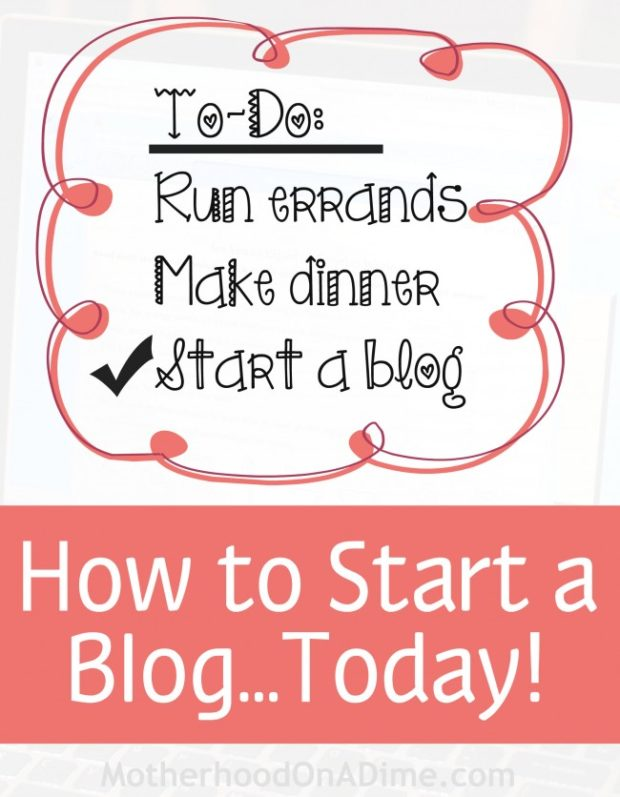 Start a WordPress Blog Today