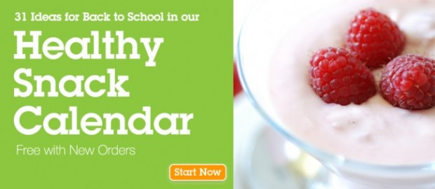 31 Back to School snack Ideas from eMeals