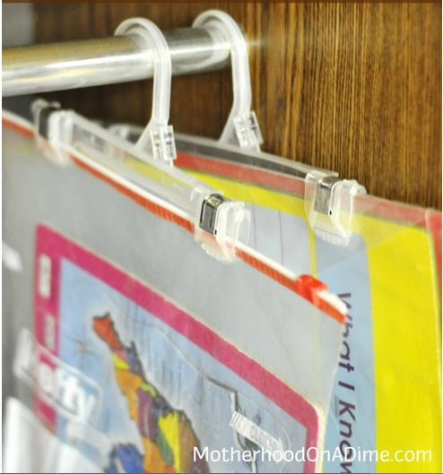 Craft and School Supply Organization
