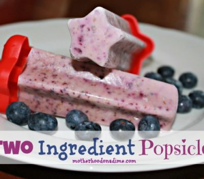 Two Ingredient Popsicles