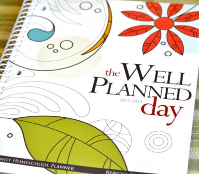 The Well-Planned Day Family Homeschool Planner