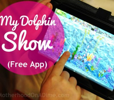 Fun & Free App for Kids:  My Dolphin Show