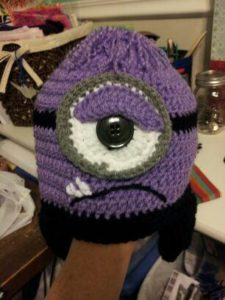 Purple Minion Hat