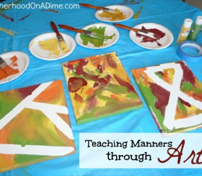 Teaching Manners Through Art