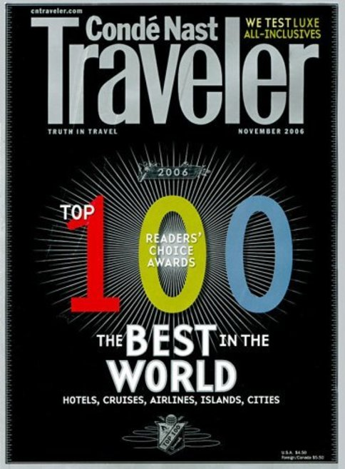 conde nast traveler magazine subscription just