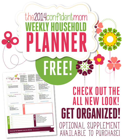 ... Printable 2014 Calendar (Chore, Household & Life Management Planner