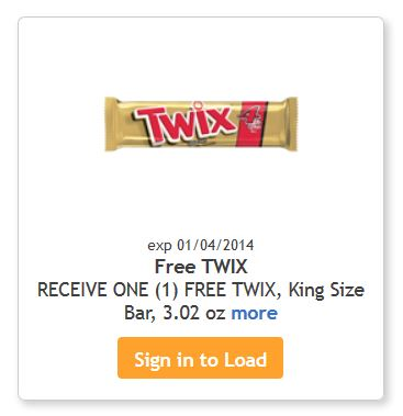 Twix Friday Freebie