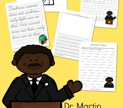 FREE Martin Luther King, Jr. Printables and Activity Ideas
