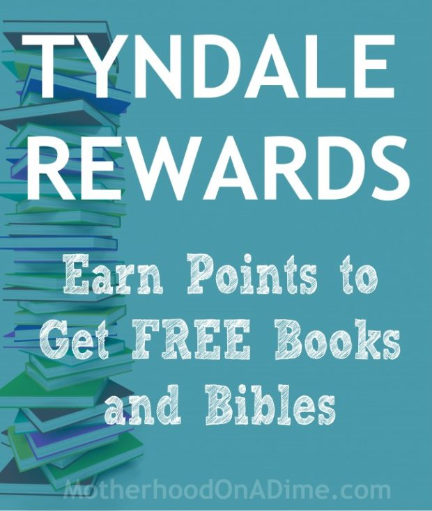 The Tyndale rewards program lets you earn points to get completely free books and Bibles.  You can get 25 points just for signing up.