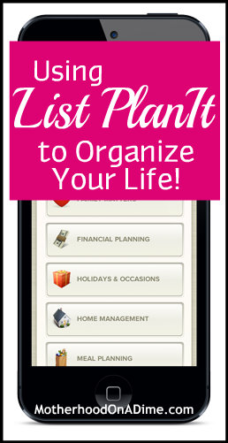 List Plan It Review