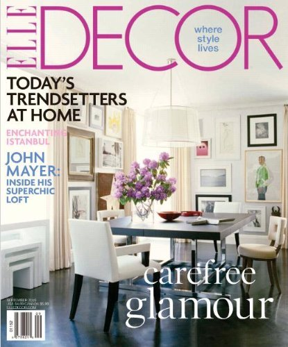 Elle decor magazine subscription just kids activities saving money home management Home design magazine subscription