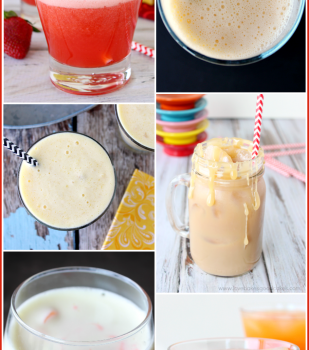 Eight {Non-Alcohol} Drink Recipes