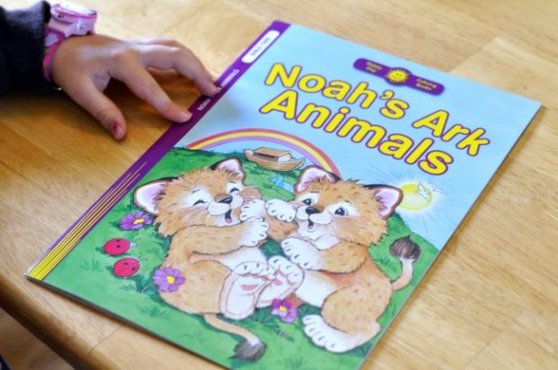 my girls must love animals because they always pick out the animal coloring books i think they get that from their dad
