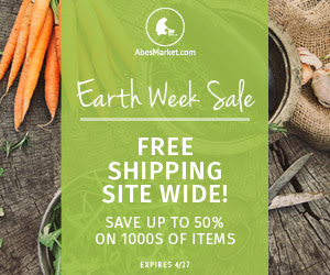 Earth Day Sale at Abe's Market