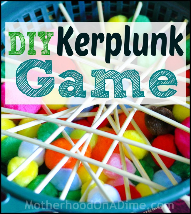 DIY Kerplunk Game