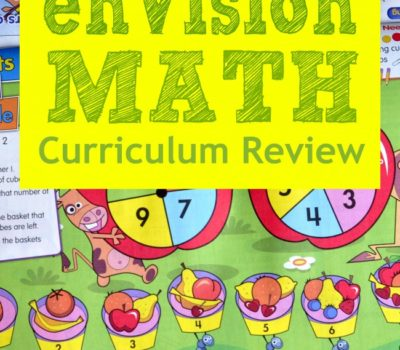 Hands-On, Active Math:  enVisionMath Homeschool Curriculum Review
