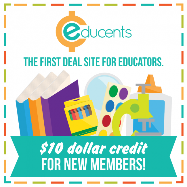 $10 Credit Educents