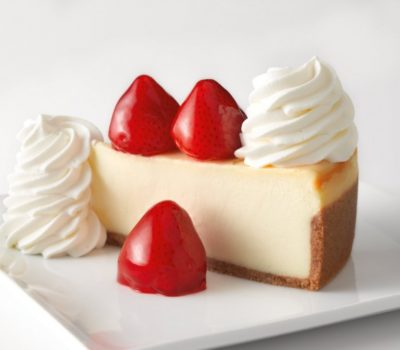 Two FREE Slices of Cheesecake w/$25 Cheesecake Factory Gift Card Purchase