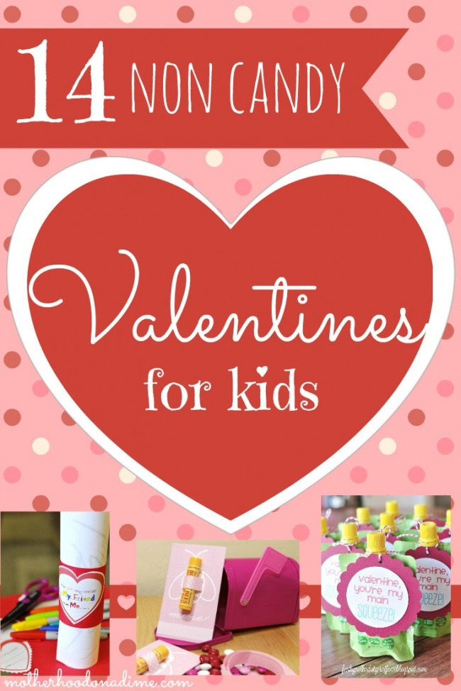 14 Non Candy Valentines For Kids